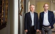 Die zwei Neuen im Priesterhaus Bernrain: Jan Walentek und Marek Kluk. (Bild: Reto Martin)