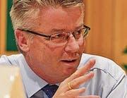 Patrick Hug Vizestadtpräsident von Arbon, Ressort Finanzen (Bild: me)
