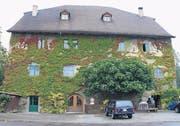Das über 500 Jahre alte Gredhaus in Steinach ist heute in privatem Besitz. (Bild: ren)