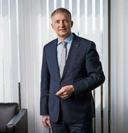 Markus Seiler war bis November Chef des Nachrichtendienstes. Bild: Alessandro della Valle/KEY(Bern, 7. April 2017)