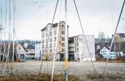 Bruggmühle-Areal am rechten Sitterufer: Zur Ortsplanungsrevision gehört auch die Überarbeitung des Baureglements. (Bild: Andrea Stalder)