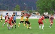 Tor in der Nachspielzeit sichert FC Sevelen drei Punkte (Bild: Robert Kucera)