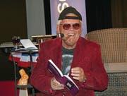 Wolf Buchinger zeigte sich im Kulturforum in verschiedenen Rollen. (Bild: Hugo Berger)