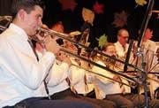 Posaunen sorgen bei der Blasmusik für einen besonderen Glanz.