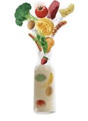 Eine Woche nur Flüssignahrung: Im Selbstversuch Smartfood getestet. (Bild: Urs Bucher)