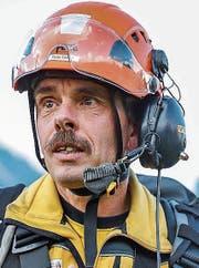 Peter Diener, Rettungschef der SAC-Rettungsstation Wildhaus-Amden. (Bild: Ralph Ribi)