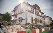 Dieses Haus will Nedaim Bilali umbauen. Das Baugesuch liegt derzeit auf. (Bild: Reto Martin)