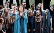 Anna Netrebko gestaltet eine Aida, die zu packen vermag. (Bild: Salzburger Festspiele/Monika Rittershaus)