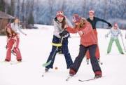 Juskila: eine Woche Schneesport, Spass und Lagerleben. (Bild: Flurin Bergamin)