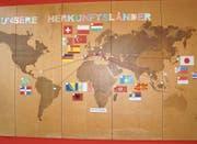 Hoher Ausländeranteil: An der Primarschule Rickenbach haben über 40 Prozent der Schüler keinen Schweizer Pass. (Bild: PD)