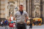 """Der Uzwiler Ignaz Bearth ist im Wahlkreis Wil der einzige Kandidierende seiner """"Direktdemokratischen Partei Schweiz"""". (Bild: pd)"""