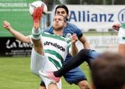 Uwe Beran gehört auch in der neuen Saison zu den Teamstützen des FC Kreuzlingen. (Bild: Mario Gaccioli)