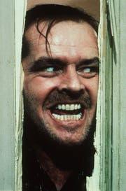 """Der Wahnsinn hat ein Gesicht: Jack Nicholson in der Rolle des Hotel-Hausmeisters Jack Torrance in Stanley Kubricks """"The Shining"""" aus dem Jahr 1980. (Bild: Anonymous (AP WARNER BROS. INC.))"""