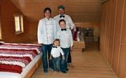 Das Hotelier-Virus hat die ganze Familie Dietrich angesteckt. (Bild: Karin Erni)