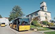 Mit dem Fahrplan 2019 werden sich die Abfahrtszeiten der Postautos in Heiden stark ändern. (Bild: APZ)