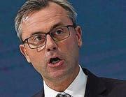 Norbert Hofer FPÖ-Kandidat (Bild: KEY)