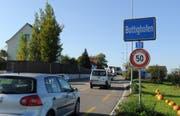 Die Kantonsstrasse H13 zwischen Kreuzlingen und Bottighofen wies erneut die höchste Tagesverkehrsfrequenz im Kanton Thurgau auf. (Bild: Nana do Carmo)
