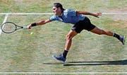 Roger Federer verpasst seinen 1100. Sieg auf der Tour. (Bild: Roland Wittek/EPA)