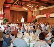 Ein gelungener Abend: 180 Personen haben am Jubiläumstreffen der Naturfreunde im Stadthof teilgenommen. (Bild: Res Lerch)