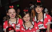 Die drei Minni Mäuse Jolina, Maja und Saira. (Bild: Andrea Müntener)