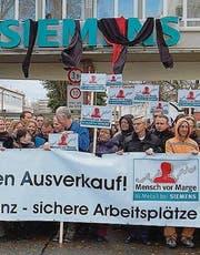 Demonstration in Konstanz. (Bild: IG Metall)