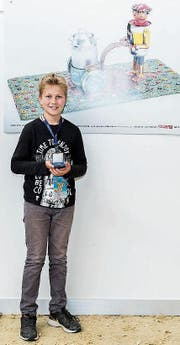 Samuel Schlegel aus Grabs gewann einen Preis bei den Jugendlichen. (Bilder: PPR/Nick Soland)