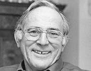 Otto Hess, 1935–2014 Ehemaliger Thurgauer SVP-Nationalrat (Archivbild: Claudia Berger)