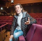 Albert Hammond im Grossen Saal des Theaters St. Gallen. (Bild: Ralph Ribi (St. Gallen, 13. Februar 2018))