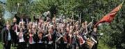 Die Stadtharmonie Eintracht Rorschach entführt am Sonntag auf eine Blasmusikreise, die von Schweden bis nach Armenien reicht. (Bild: pd)