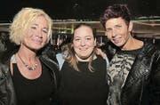 Sandra Alt, Melanie Schätti und Yvonne Hertach. (Bilder: tgplus.ch/Chris Marty)