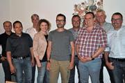 Der Vorstand des Gewerbevereins Aach-Thur-Land hielt Rückschau auf die Gewea. (Bild: Ramona Riedener)