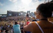 Das Open Air Frauenfeld ist das grösste Hip-Hop-Festival in Europa. (Bild: Andrea Stalder)