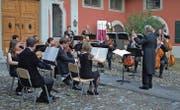 Die Serenade im Hofgarten hat Tradition: Bereits im vergangenen Sommer hat das Collegium Musicum Ostschweiz in Rheineck konzertiert. (Bild: pd)