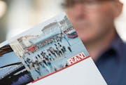 Nur wenn Ausgesteuerte beim RAV angemeldet sind, tauchen sie in der Arbeitslosenstatistik auf. (Bild: Geatan Bally/Keystone)