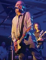 Der italienische Sänger Umberto Tozzi bei seinem Auftritt im Kulturforum Amriswil. (Bild: Barbara Hettich)