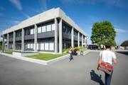 Das sanierte HSG Hauptgebäude. (Bild: Urs Bucher)