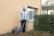 Dieser Gartenschlauch sorgt für einen Gerichtsfall in Kreuzlingen. (Bild: Thi My Lien Nguyen)