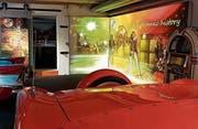 Das Rock- & Pop-Museum hat eine Werbeplattform im Autobau erhalten. (Bild: PD)