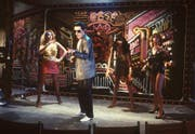 Der österreichische Popstar Falco 1982 bei seinem Auftritt im «WWF-Club in Köln». (Bild: Keystone)