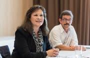 «Motiviert und unabhängig»: Monika Gähwlier will für die SP in den Stadtrat. (Bild: Hanspeter Schiess)