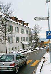 Idyllisch über dem Bodensee gelegen – das Asylzentrum Landegg. (Bild: Ralph Ribi)