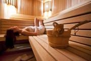 Erholung pur: Sauna. (Bild: Fotolia)