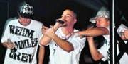 Die Thurgauer Rap-Combo Reim Rammler & Jamayl Da Tyger in Aktion. (Bild: Katrin Ilg)