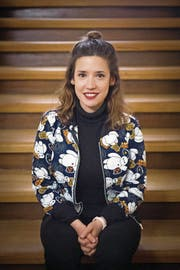 Gülsha Adilji, Journalistin und Kabarettistin (Bild: Urs Bucher)