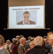 Die Arbeit in der Findungsgruppe zahlte sich aus. Wolfgang Giella gewann die Wahl. (Bild: Hanspeter Schiess)
