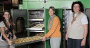 Die Dörr-Frauen Isabelle Baumberger (von links), Gabi Graf und Claudia Gemperli. (Bild: PD)