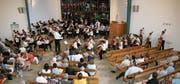 Start ins Jubiläumsjahr: Junge Erwachsene werden mit Musik und ihren Gedanken zum Gottesdienst in der Kreuzkirche beitragen. (Bild: PD)