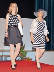 Models präsentieren an der Modeschau Frühlingsmode aus Italien und Portugal zu beschwingter Musik. (Bild: pd)