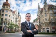 Kantonsrat Ivan Louis (SVP) ist der neue St.Galler Kantonsratspräsident. (Bild: Benjamin Manser)