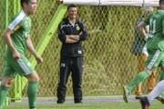 Urs Wegmann hat seinen Vertrag beim SC Brühl vorzeitig verlängert. (Bild: freshfocus)
